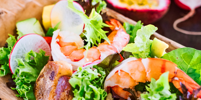 Niche Salad from Niche at Siam Kempinski Hotel, Bangkok