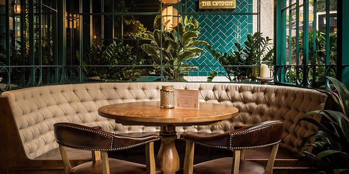 Banquet Seats, The Optimist, Wan Chai, Hong Kong