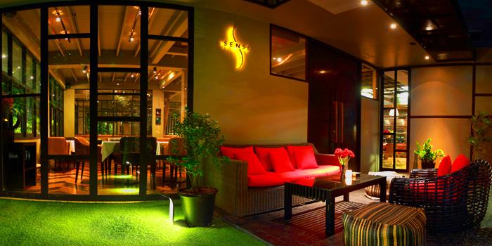 Ambience of Sensi Restaurant in Narathiwat Soi 17, Bangkok