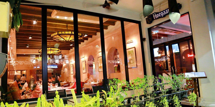 outdoor of Brasserie Phuket, Talad Neua, Muang, Phuket, Thailand