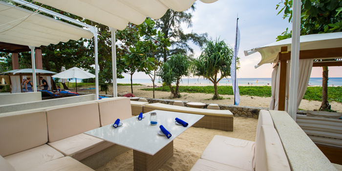 Restaurant-Ambiance of Coast Beach Club and Bistro in Patak Road Kata Muang Phuket, Thailand