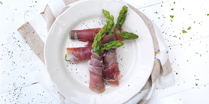 Asparagi e Prosciutto from Al Forno Tapas & Wine Bar in East Coast, Singapore