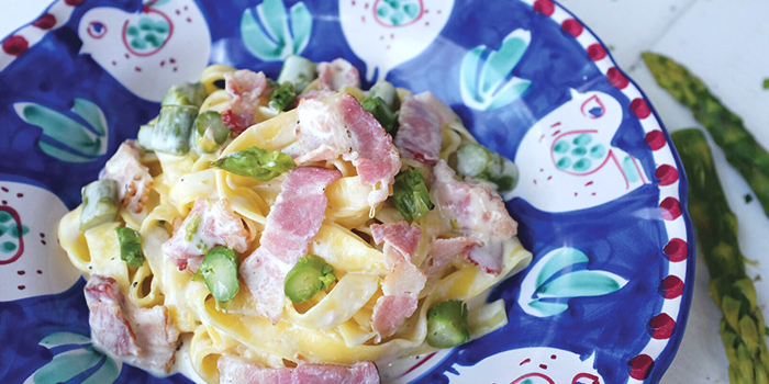 Pancetta Fettucine from Al Forno Tapas & Wine Bar in East Coast, Singapore