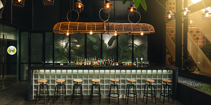 Bar of Bar Canary in Grand Park Hotel in Orchard, Singapore