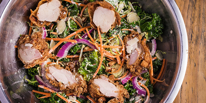 Kale Salad from Decker Barbecue in The Quayside at Robertson Quay, Singapore