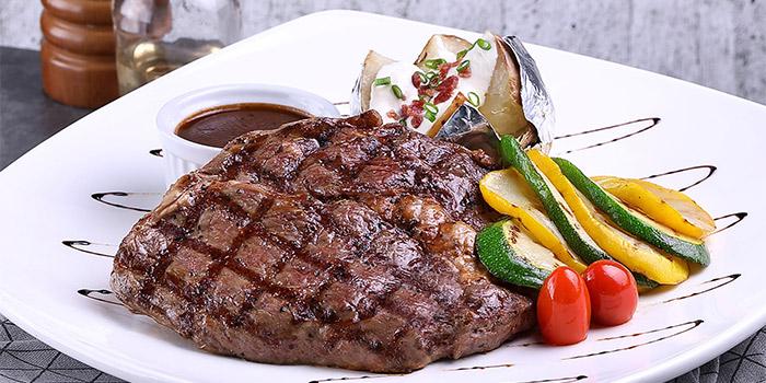 Charbroiled Ribeye Steak from Earle Swensen