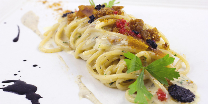 Carbonara di Mare from Etna Italian Restaurant (Upp East Coast) in East Coast, Singapore