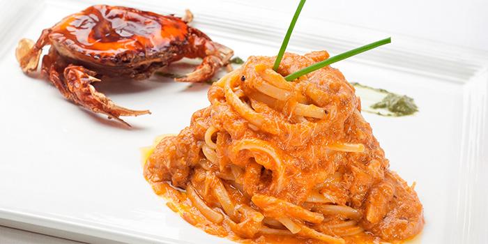 Linguine al Granchio from Etna Italian Restaurant (Duxton) in Duxton, Singapore