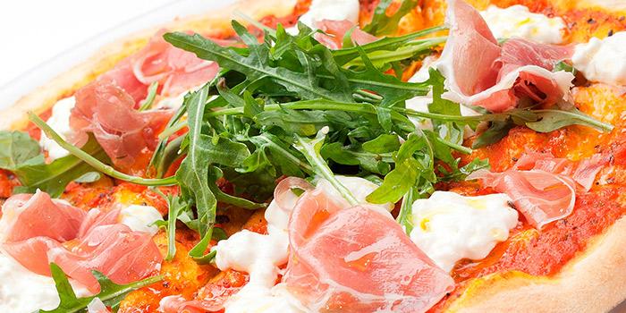 Pizza Burrata from Etna Italian Restaurant (Duxton) in Duxton, Singapore