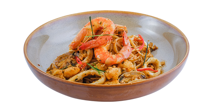 Dried Tom Yum Seafood Spaghetti from Five &2 in Punggol, Singapore