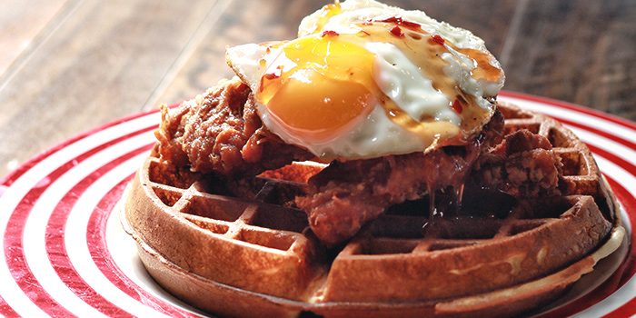 Chicken Waffle from Forty Hands East Coast in East Coast, Singapore
