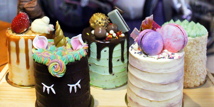 Assortment of Cakes from Hatter Street (Kovan) in Kovan, Singapore