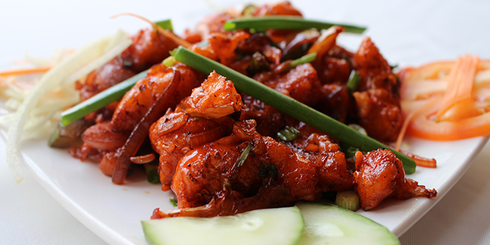Chilli Prawn from Indian House (49 Boat Quay) in Boat Quay, Singapore