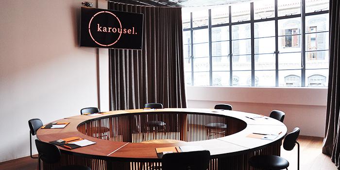 Karousel Area of Kinou in Tanjong Pagar, Singapore