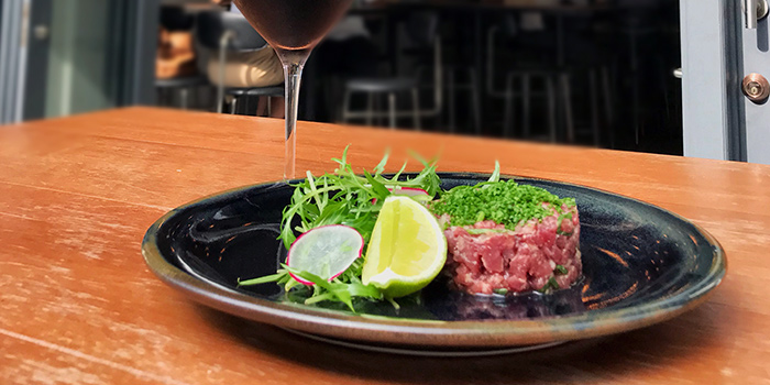 Tartare from Kinou in Tanjong Pagar, Singapore