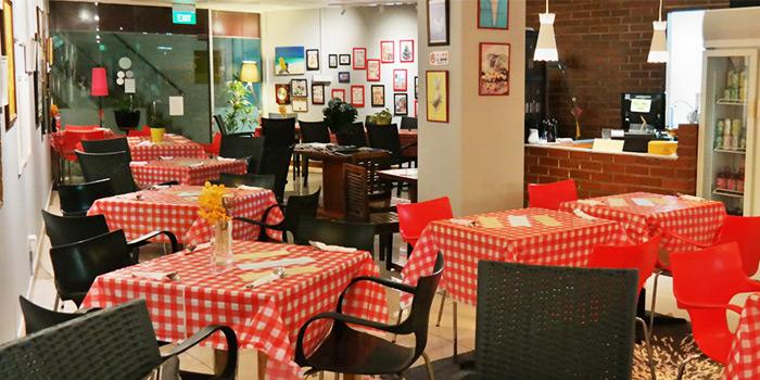 Interior at La Petite Cuisine in Bukit Timah, Singapore