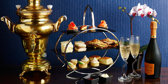 High Tea Set with Champagne from Lobby Lounge & Bar at Holiday Inn Singapore Orchard City Centre in Orchard, Singapore