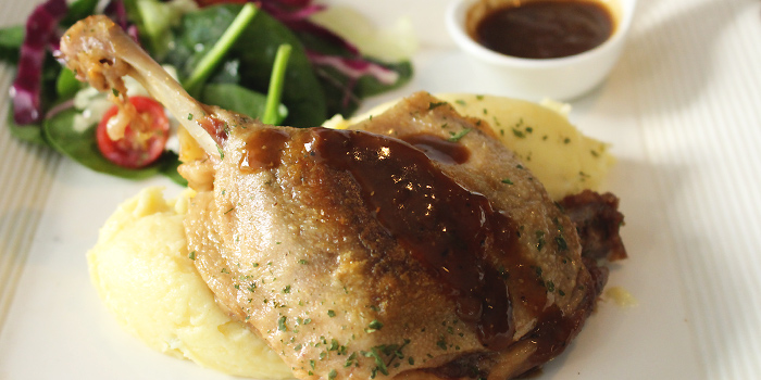 Duck Confit from MEDZS Bistro & Bar at Clifford Centre in Raffles Place, Singapore