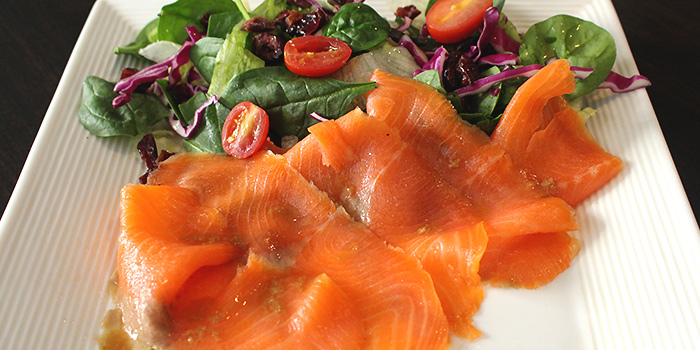 Smoked Salmon from MEDZS Bistro & Bar at Clifford Centre in Raffles Place, Singapore