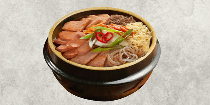 Budae Jjigae from Magal BBQ (마포갈매기) in Telok Ayer, Singapore