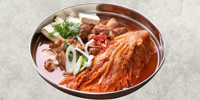 Pork Kimchi Jeongol from Magal BBQ (마포갈매기) in Telok Ayer, Singapore