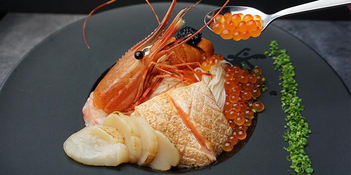 Hiyashi Somen from Maru Japanese Restaurant at ICON Village in Tanjong Pagar, Singapore