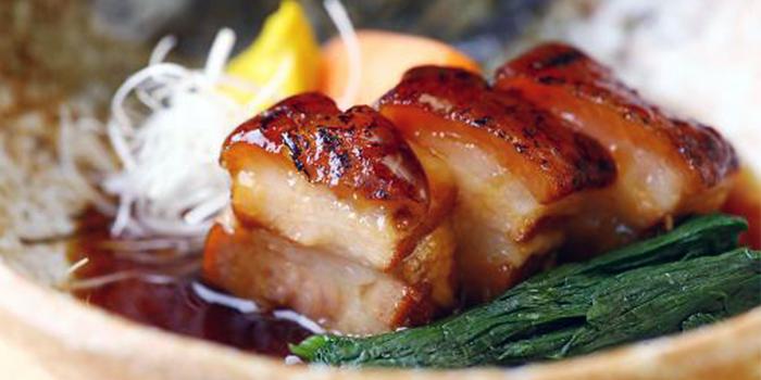 Buta Kakuni from Maru Japanese Restaurant at ICON Village in Tanjong Pagar, Singapore