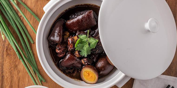 Braised Pig Trotter in Vinegar from One Bowl Restaurant & Bar at The Sultan Hotel in Bugis, Singapore