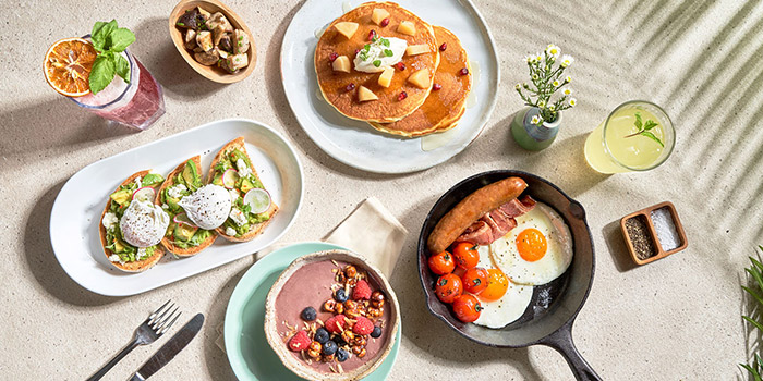 All Day Brunch from Tanjong Beach Club - The Dining Room on Tanjong Beach Walk on Sentosa Island, Singapore