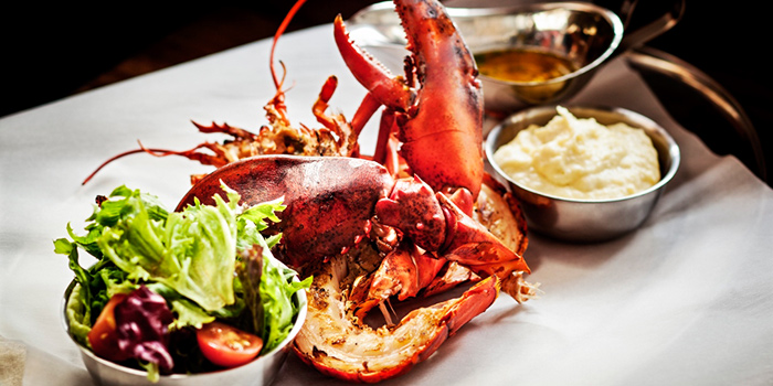 Chargrilled Whole Lobster from The Market Grill at Telok Ayer in Raffles Place, Singapore
