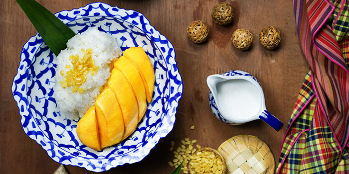 Mango Sticky Rice from Un-Yang-Kor-Dai in Boat Quay, Singapore