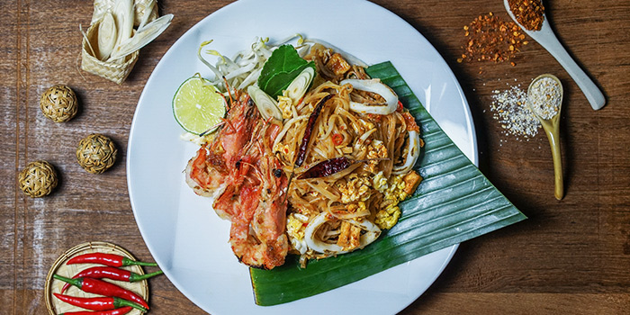 Seafood Phad Thai from Un-Yang-Kor-Dai in Boat Quay, Singapore