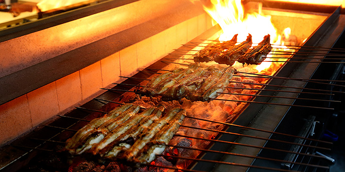 Eel on Grill from Uya 四代目菊川 Japanese Unagi Restaurant in Orchard Road, Singapore