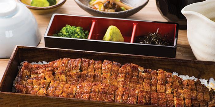 Hitsumabushi Large from Uya 四代目菊川 Japanese Unagi Restaurant in Orchard Road, Singapore