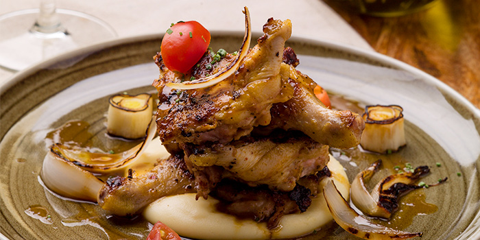 Roasted Baby Chicken from Wine & Chef in Keong Saik, Singapore