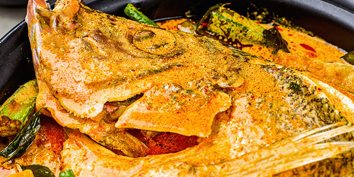 Curry Fish Head from Wok Master (Westgate) in Jurong East, Singapore