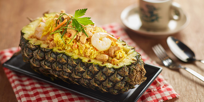 Pineapple Fried Rice from Yassin Kampung (Marsiling) in Marsiling, Singapore