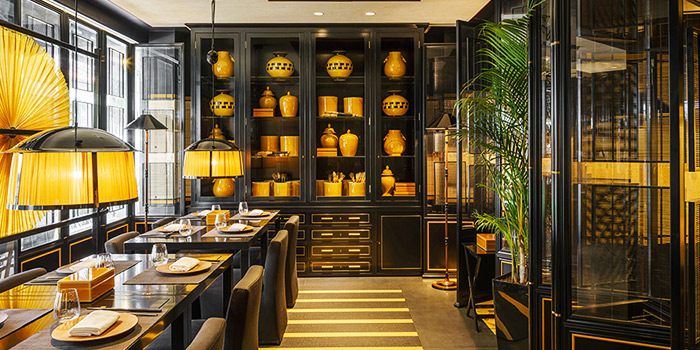 Interior from Yellow Pot Restaurant and Bar in Duxton, Singapore