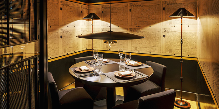 Private Dining Room of Yellow Pot Restaurant and Bar in Duxton, Singapore