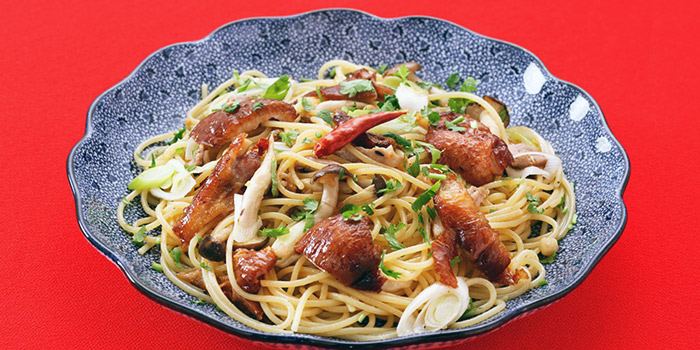 Spaghetti from Yomenya Goemon in Buona Vista, Singapore