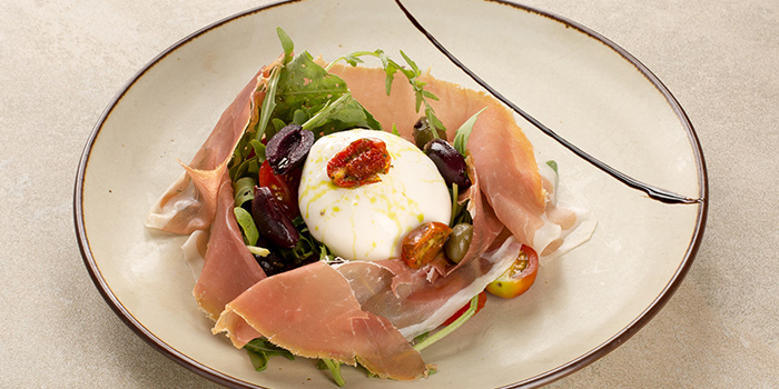 Burrata Parma Ham from iO Italian Osteria Singapore at HillV2 in Bukit Timah, Singapore