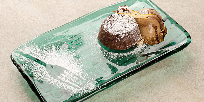 Lava Cake from iO Italian Osteria Singapore at HillV2 in Bukit Timah, Singapore