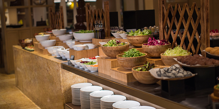 Salad Bar, Cafe Renaissance, Wan Chai, Hong Kong