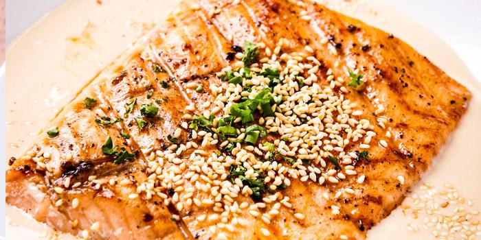 Salmon Sesame from Jann Bistro at Sathon at 1749 Chan Kao rd Thung Maha Mek, Sathon Bangkok