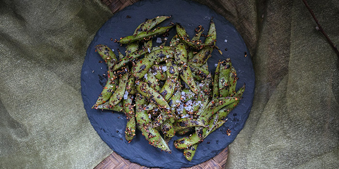 Sauteed Edamame from Coriander Leaf Grill in Tanjong Pagar, Singapore