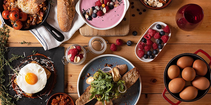 Brunch Spread, Scarlett Cafe & Wine Bar, Tsim Sha Tsui, Hong Kong