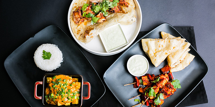 Set Lunch Food Spread from Coriander Leaf Grill in Tanjong Pagar, Singapore