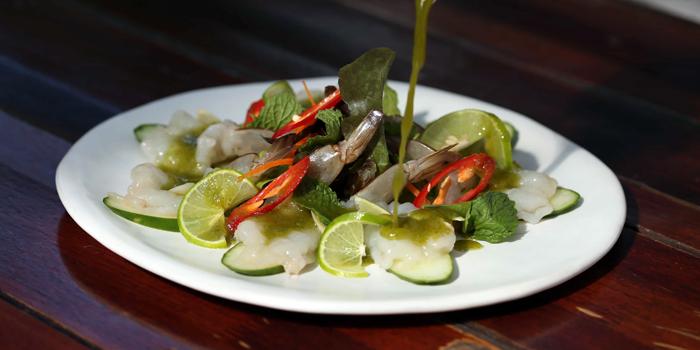 Shrimp Ceviche from Roots - Bangkok at K- Village, Bangkok