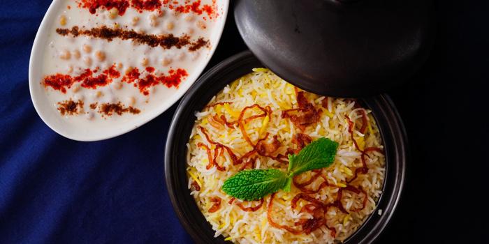 Signature Dishes from Bawarchi Indian Restaurant at Intercontinental Hotel (President Tower Arcade) B-level 973 Ploenchit Road Bangkok