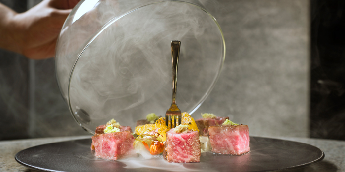 Smoked Kagoshima Sirloin, Cruise, North Point, Hong Kong